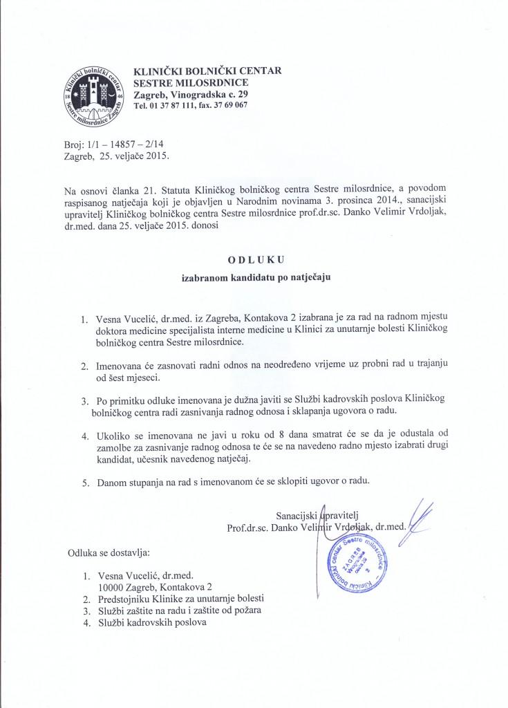 Vucelić Vesna, dr.med.